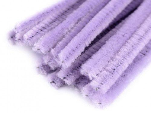 drut pluszowy fioletowy-liliowy op.10