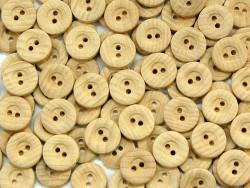 Guzik drewniany 15mm