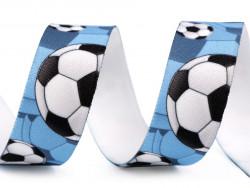 guma ozdobna z nadrukiem piłki