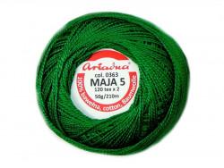 MAJA 5 120x2 kolor 0363 zielony 50g 210m
