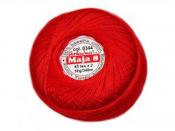 MAJA 8 65x2 kolor 0344 czerwony50g 340m