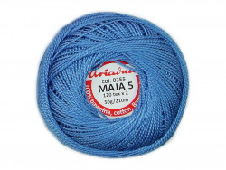 MAJA 8 65x2 kolor 0355 niebieski 50g 340m