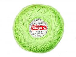 MAJA 8 65x2 kolor 0360 seledynowy 50g 340m