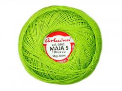 MAJA 8 65x2 kolor 0361 zielony jasny 50g 340m