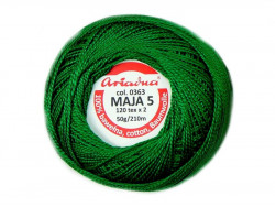 MAJA 8 65x2 kolor 0363 zielony 50g 340m