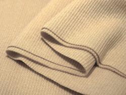 ściągacz elastyczny bawełna beżowy