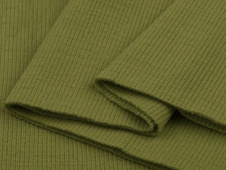 ściągacz elastyczny bawełna oliwkowy