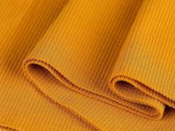 ściągacz elastyczny bawełna musztardowy