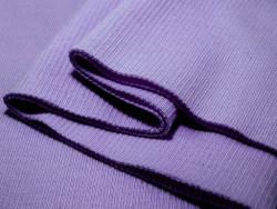 ściągacz elastyczny bawełna fioletowy