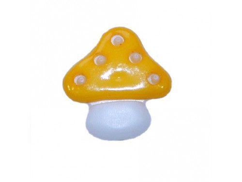 Guziczek dziecięcy grzybek żółty