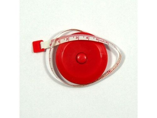 Centymetr zwijany czerwony