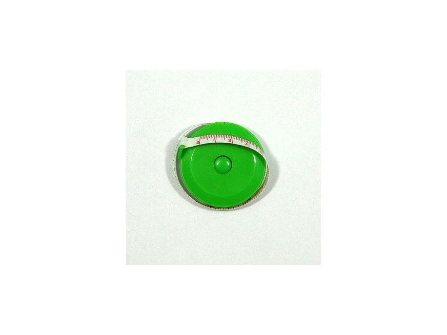 Centymetr zwijany zielony