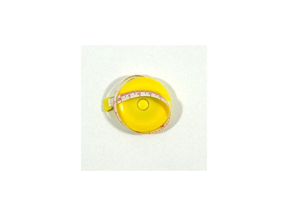 Centymetr zwijany żółty