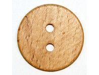 Guzik drewniany duży