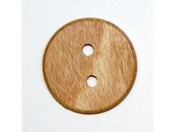Guzik drewniany średni