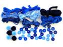 Zestaw kreatywny 44 elementy Morskie Fale