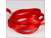 wstążka atłas. szer.10mm czerwona