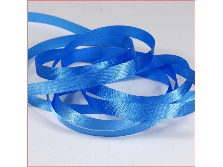 wstążka atłas. szer.10mm niebieska