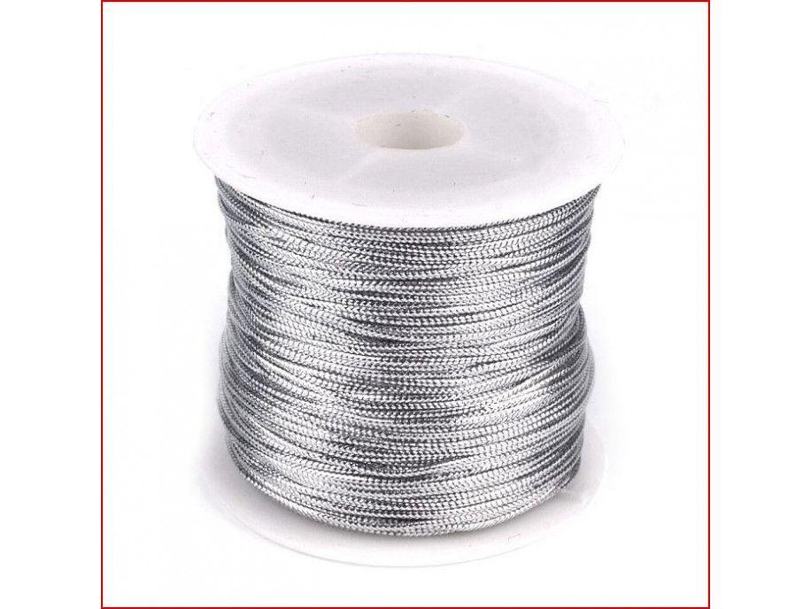 sznurek lurex 1 mm/3m