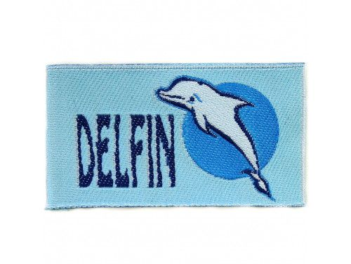 """naszywka """"delfin"""""""