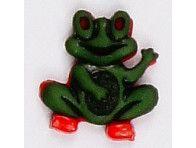 Guziczek dziecięcy żabka