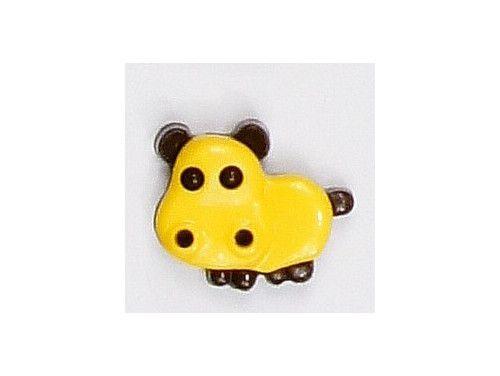 Guziczek dziecięcy hipopotam