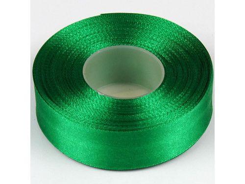 wstążka satynowa 25 - kol.103 zielona