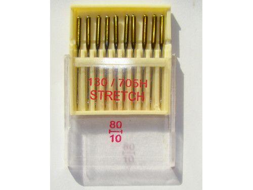 igły maszynowe STRETCH 80