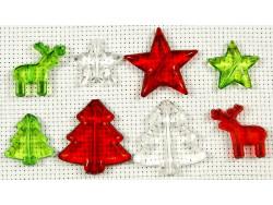 koraliki plastikowe zestaw świąteczny