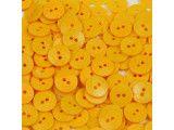 guziki 15mm - 500 szt. żółty