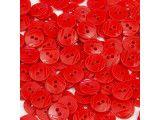 guziki 15mm - 500szt. czerwony