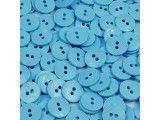 guziki 15mm - 500szt. niebieski jasny