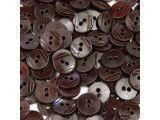 guziki 15mm - 500szt. brązowy