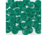 guziki 15mm - 500szt. zieleń wiosenna