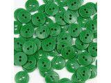 guziki 15mm - 500szt. zielony