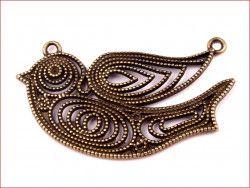 zawieszka metalowa ptak