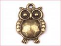 zawieszka metalowa sowa mała