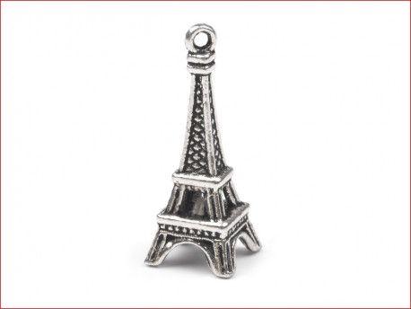 zawieszka metalowa PARIS 3D