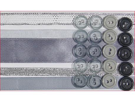 zestaw srebrny