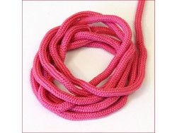 sznurek bistorowy różowy ciemny
