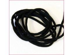 sznurek bistorowy czarny