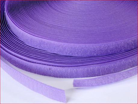 Taśma rzep 16 mm fioletowa
