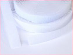 Taśma rzep 16 mm biała