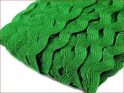 taśma ząbkowana zygzak zielona