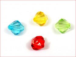 """koraliki akrylowe """"diamenty"""""""
