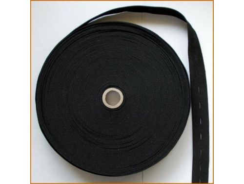 guma z dziurkami czarna 21