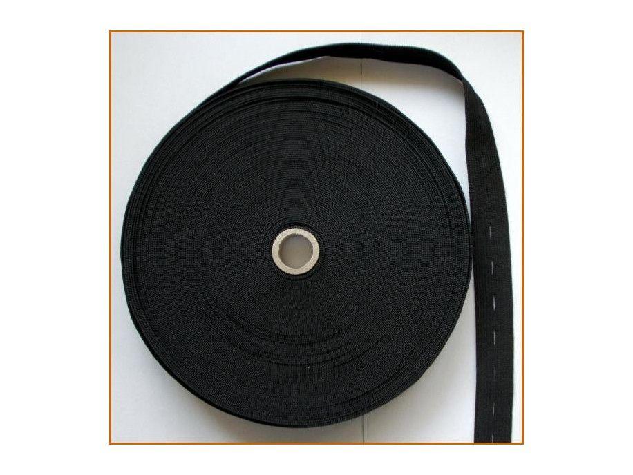 guma z dziurkami czarna