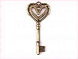 zawieszka metalowa klucz