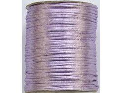 sznurek satynowy 2 mm lawendowy szpula 100m