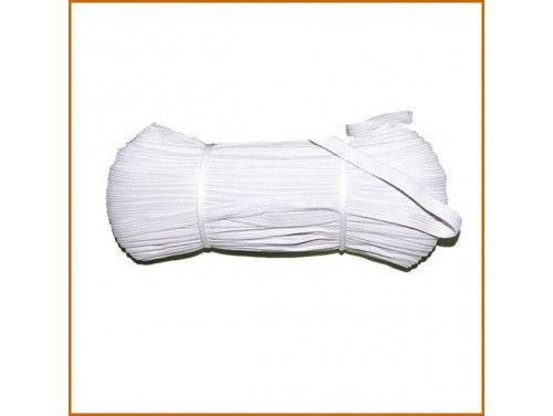 guma tkana biała 8mm